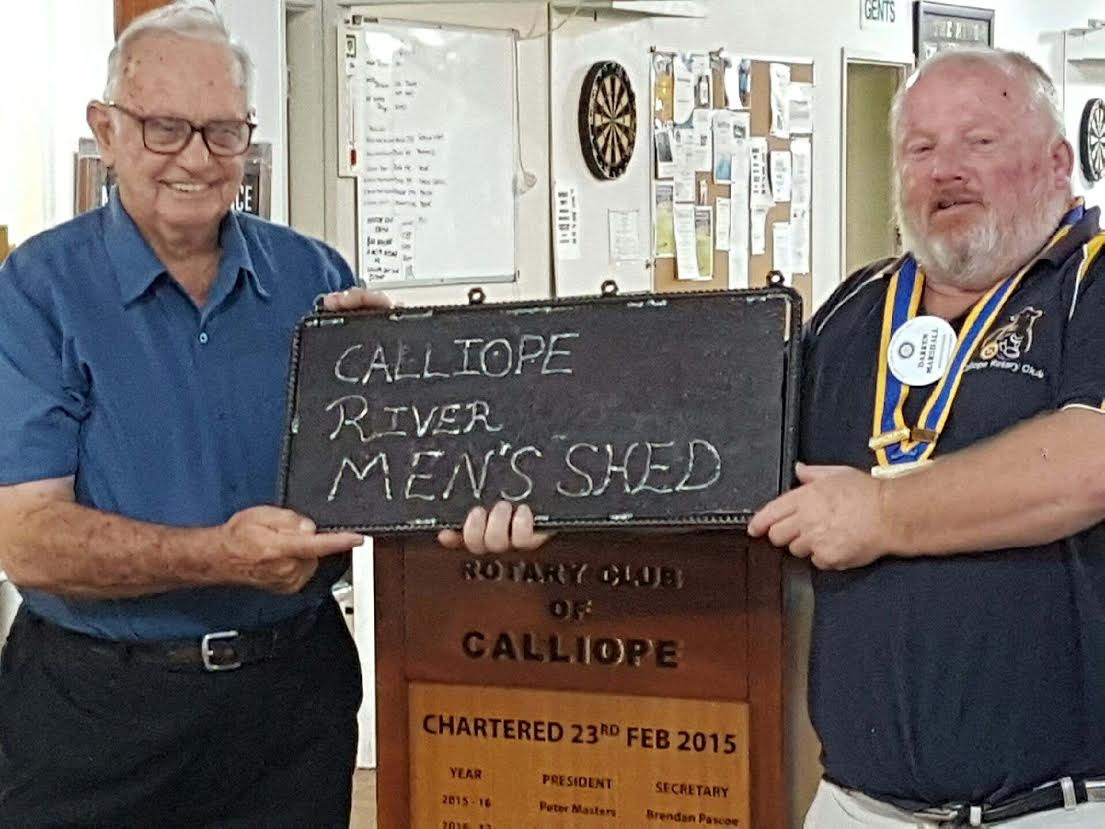 Calliope Men's Shed