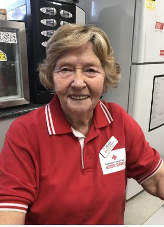 Local Volunteer Margaret Zerner