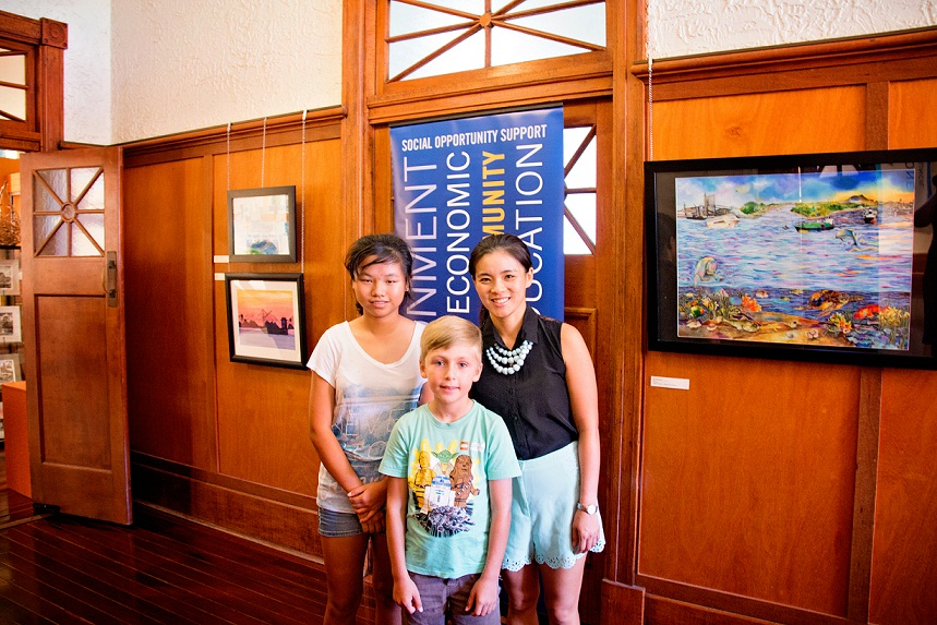 Winners of the GPC 'Paint the Port' Competition