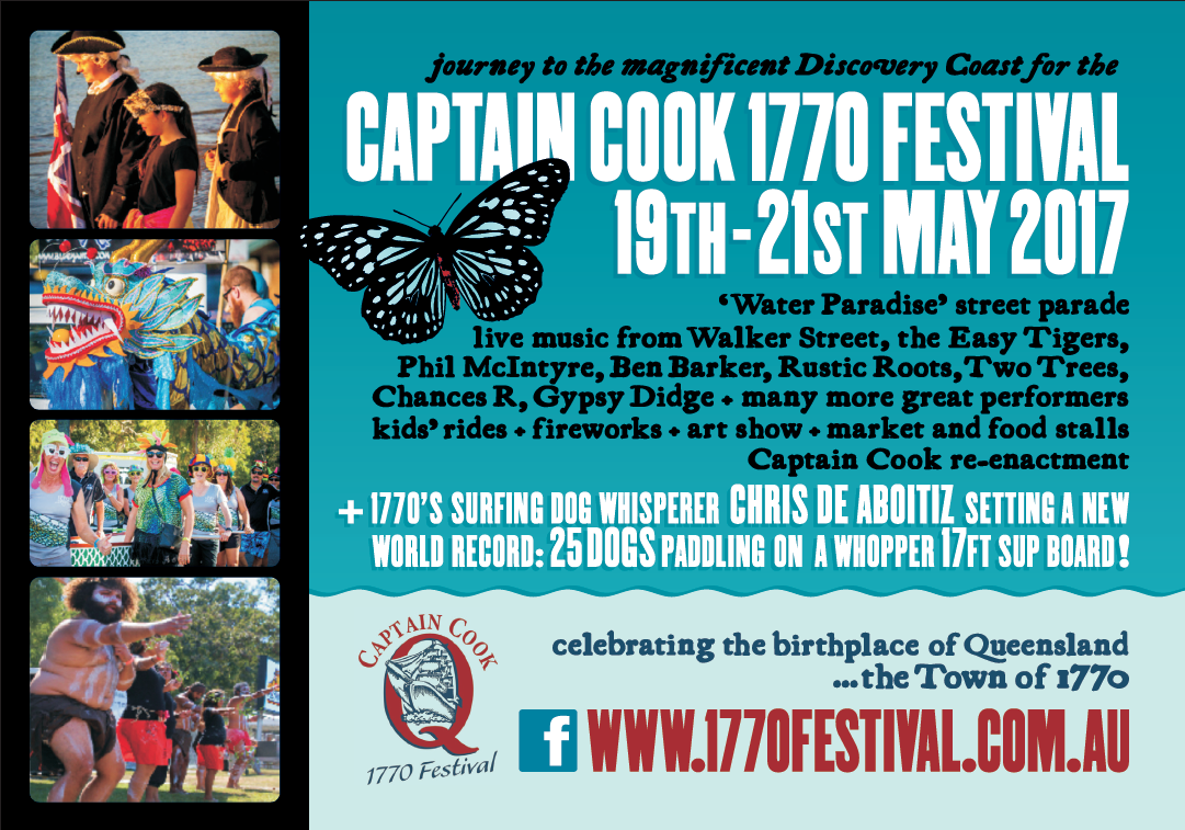 Captain Cook 1770 Festival