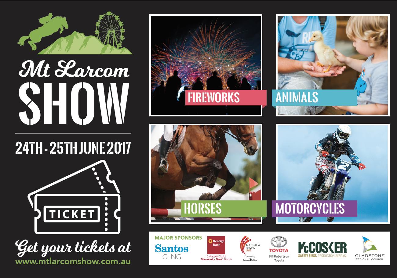 Mt Larcom Show