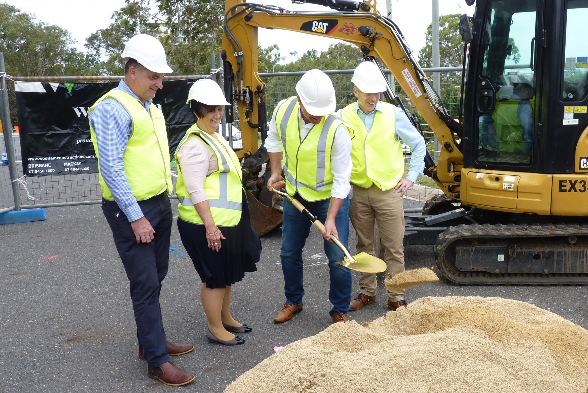 CONSTRUCTION STARTED AT GLADSTONE HOSPITALS NEW EMERGENCY